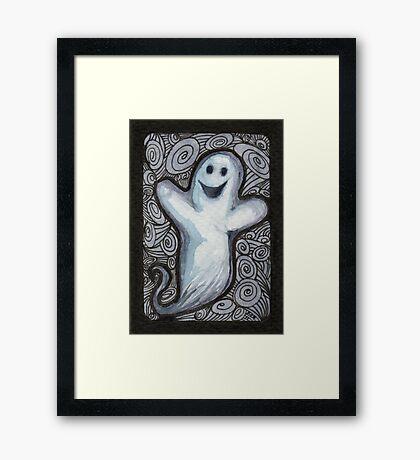 Ghostage Framed Print