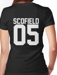 Michael Scofield 05 Womens Fitted T-Shirt