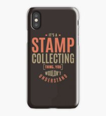 Stamp Collecting Thing iPhone Case