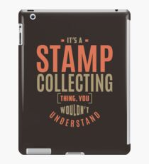 Stamp Collecting Thing iPad Case/Skin