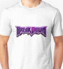 Camiseta unisex BREAKDOWN JOJO