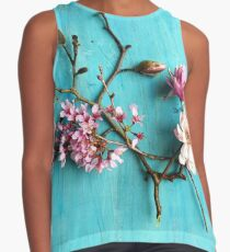 Flowers of Spring Contrast Tank