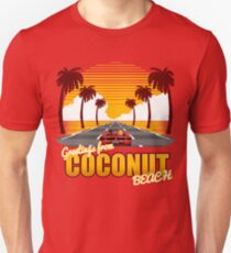 Greetings from Coconut Beach Unisex T-Shirt