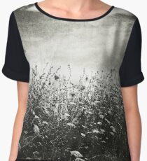 Counting Flowers Like They Were Stars Women's Chiffon Top