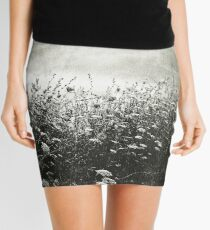 Counting Flowers Like They Were Stars Mini Skirt