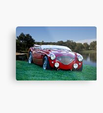 1956 Austin Healey 100M Roadster Metal Print