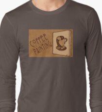 Coffee Painters' Tee Long Sleeve T-Shirt