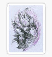 Amethyst dragon fairy lady Sticker