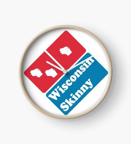Wisconsin Skinny zaaaaa Clock