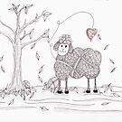 Do Ewe Love Fall by Christianne Gerstner
