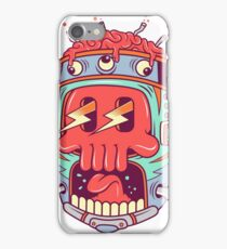 A Colourful Screaming Skull iPhone Case/Skin