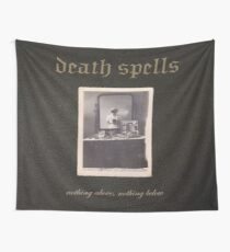 Nothing Above, Nothing Below Flag Wall Tapestry