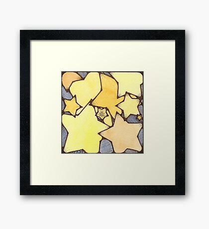Stardust Framed Print