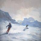 Last Run, Les Arcs by stevemitchell