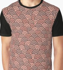 Brown doodle pattern. Hand drawn seamless background. Vector illustration. Graphic T-Shirt