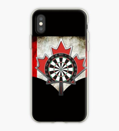 Darts Canada iPhone Case