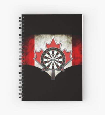 Darts Canada Spiral Notebook