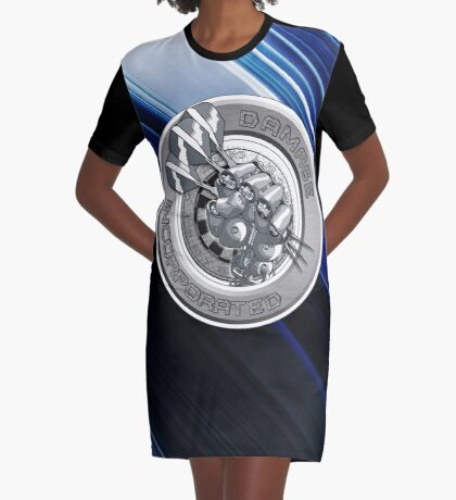Damage Incorporated Graphic T-Shirt Dress