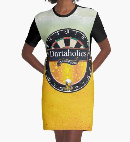 Dartaholics Anonymous Graphic T-Shirt Dress