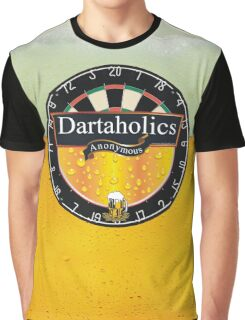 Dartaholics Anonymous Graphic T-Shirt