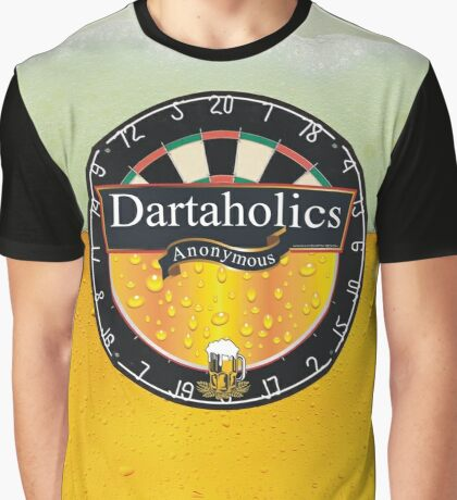 Dartaholics Anonymous Graphic T-Shirt