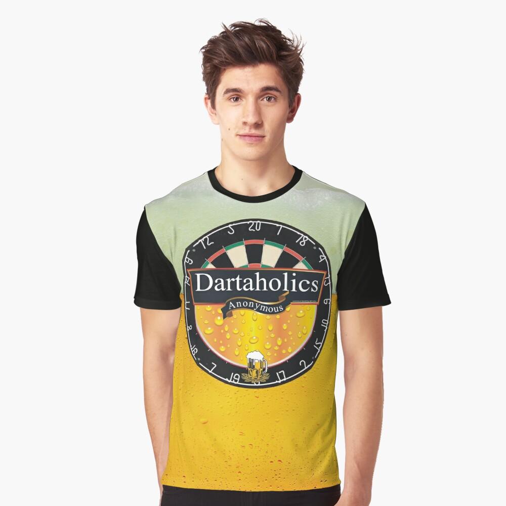 Dartaholics Anonymous Graphic T-Shirt Front