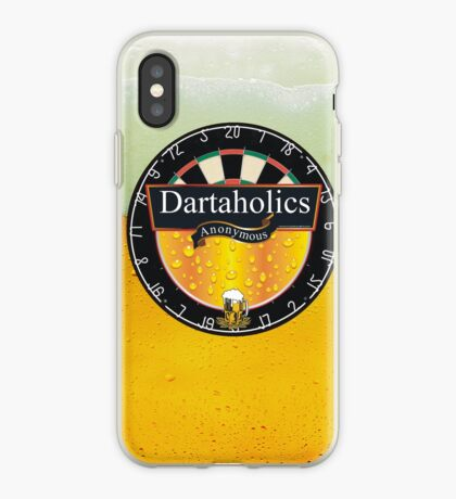 Dartaholics Anonymous iPhone Case