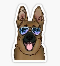 German Shepard Sticker