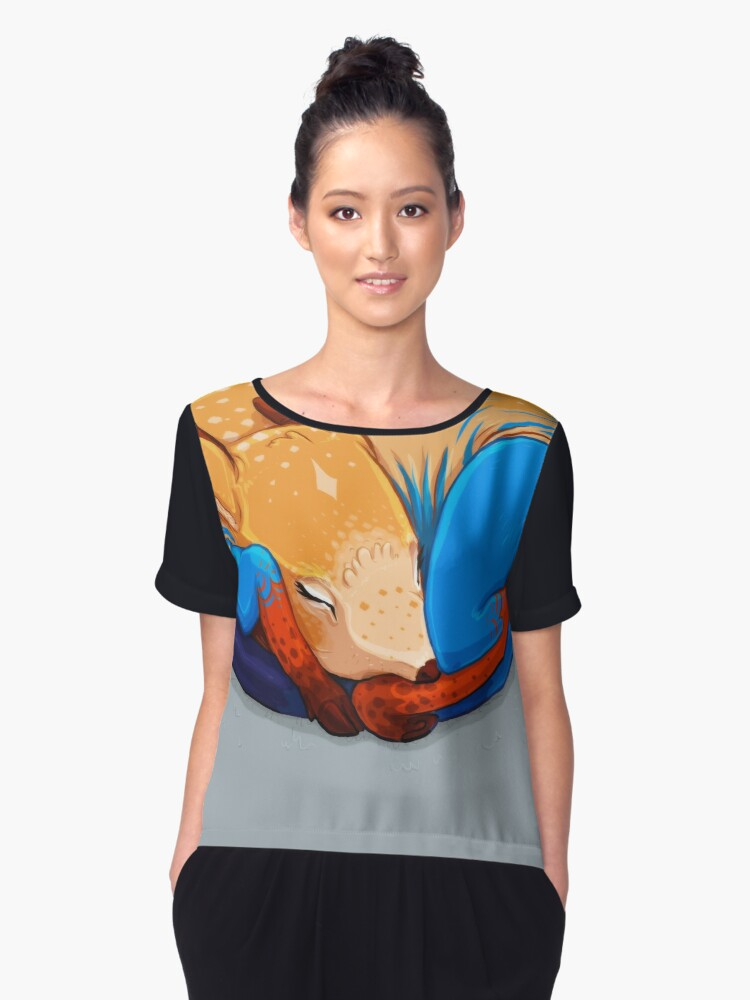 Foal Women's Chiffon Top Front