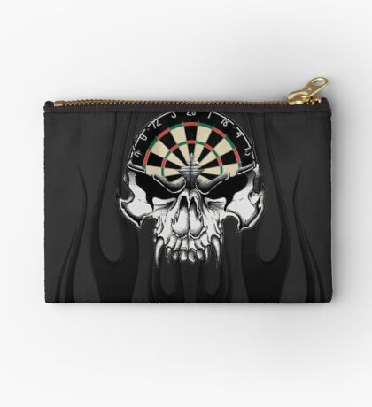 Darts Skull and Flames Studio Pouch