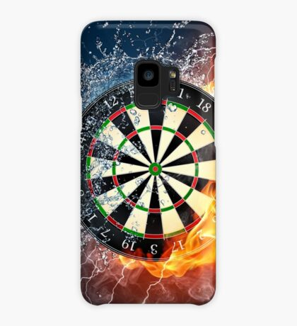 Fire And Ice Dartboard Case/Skin for Samsung Galaxy
