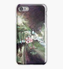 Oxford High Street at Night iPhone Case/Skin