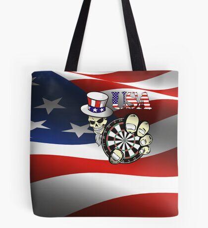 USA Darts Tote Bag