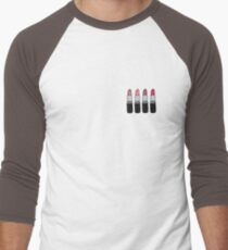 Lipsticks Men's Baseball ¾ T-Shirt