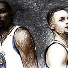 Warriors Duo  by NBA-Scholar