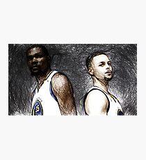 Warriors Duo  Photographic Print