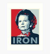 The Iron Lady Art Print