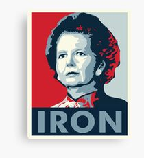 The Iron Lady Canvas Print