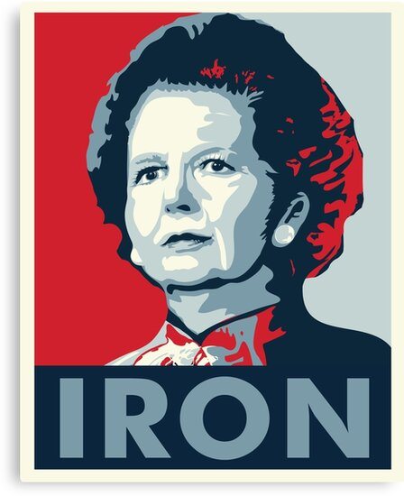 The Iron Lady by rightposters