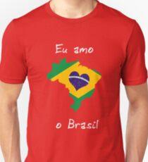 Eu Amo O Brasil Unisex T-Shirt