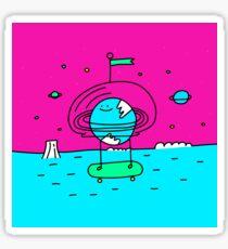 Surreal Planet - Mr Beaker Sticker