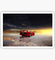 Ferrari F40 | ReVisit Series Sticker