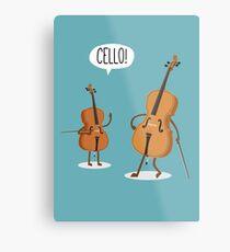 Cello! Metallbild