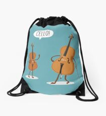 Cello! Drawstring Bag