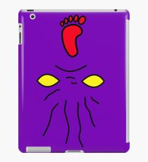 tmnt foot clan soldier iPad Case/Skin