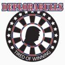 Darts Players: Deplorabulls by mydartshirts