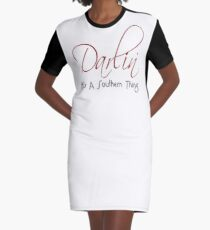 Darlin' - It's A Southern Thing Graphic T-Shirt Dress