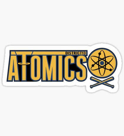 District 13 Atomics Sticker