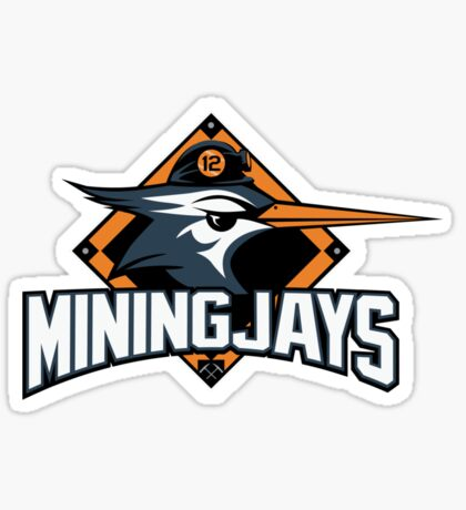 District 12 MiningJays Sticker