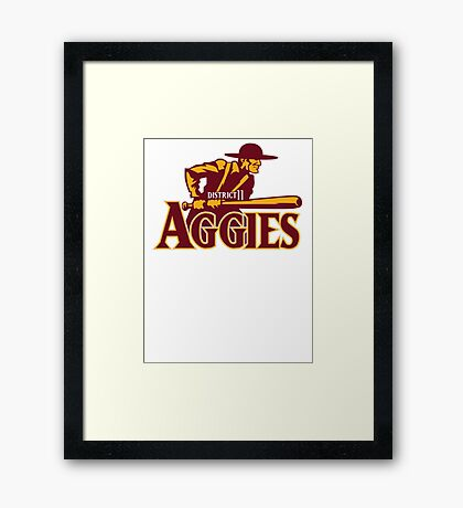 District 11 Aggies Framed Print